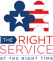 Right Service at the Right Time logo