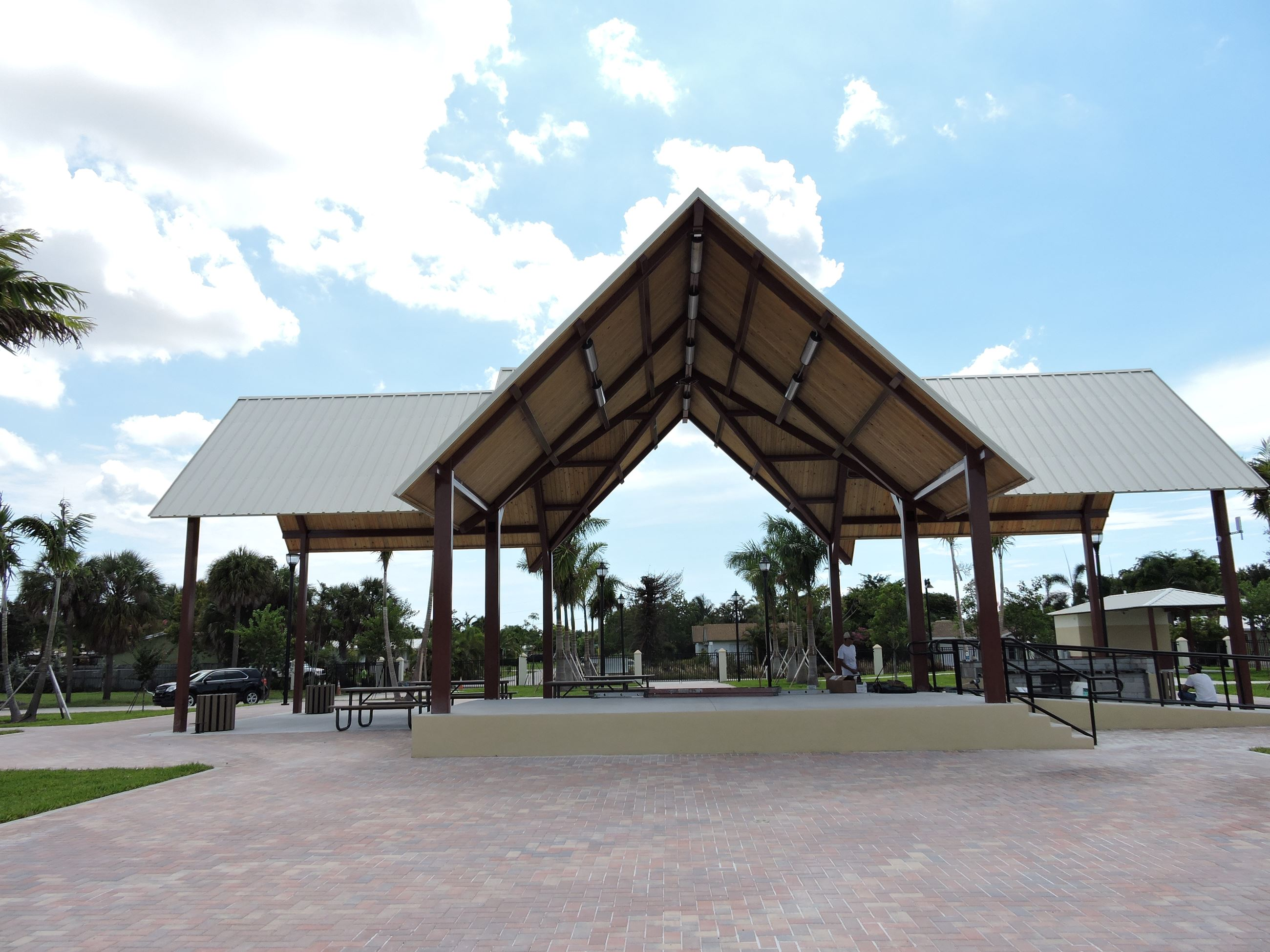 Mickel Park Entertainment Pavilion