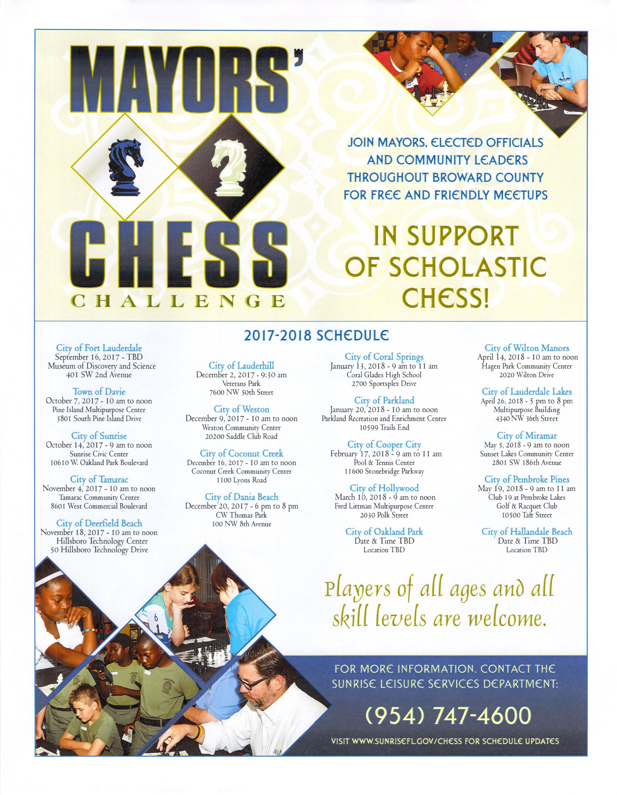 2018 Mayors Chess Challenge