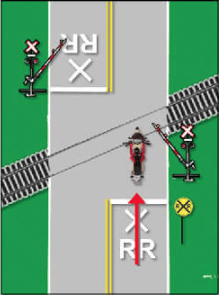 Street Traffic RR Crossing