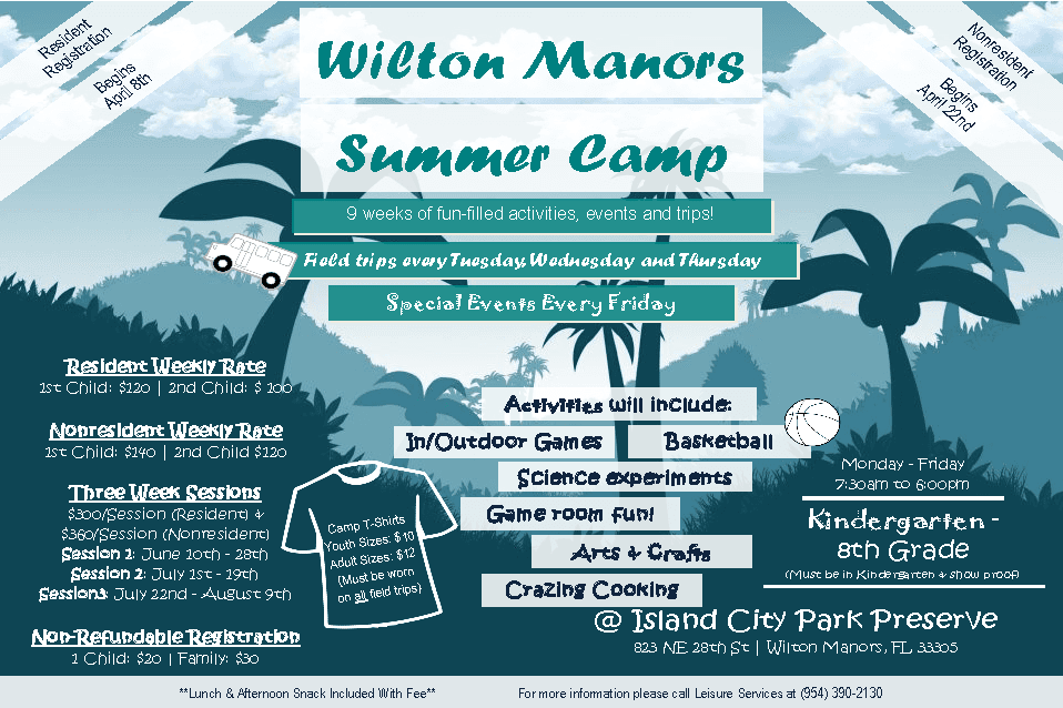 Summer Camp Flyer 2019