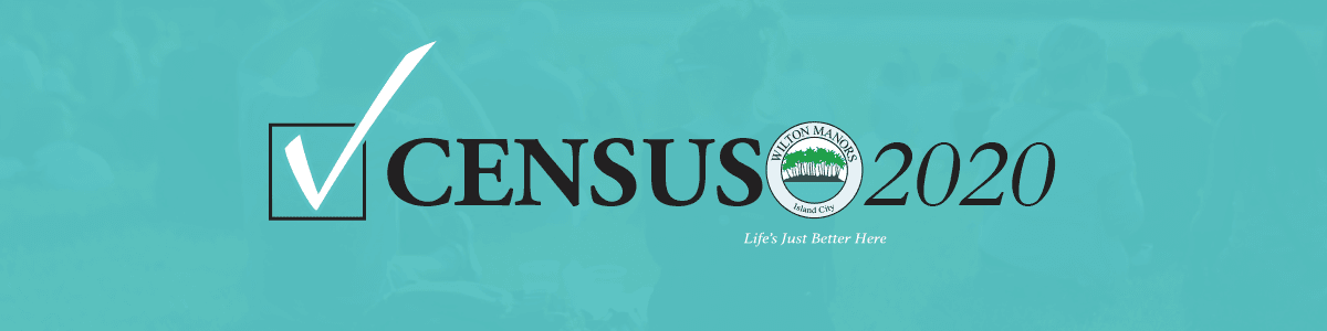 Wilton Manors Census 2020 Website Header AUGUST 2019 DRAFT 1