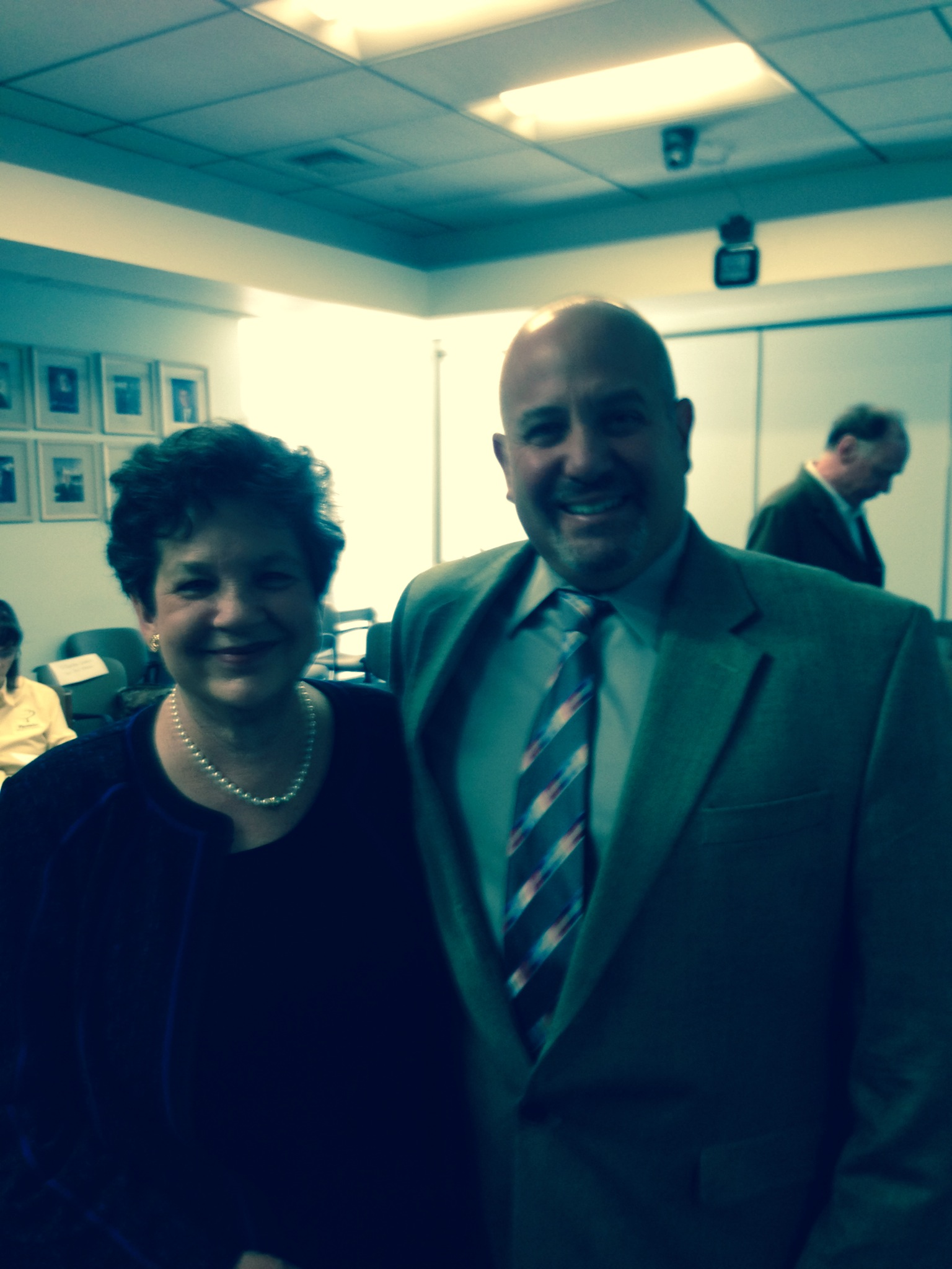 Congresswoman Frankel and Mayor Resnick