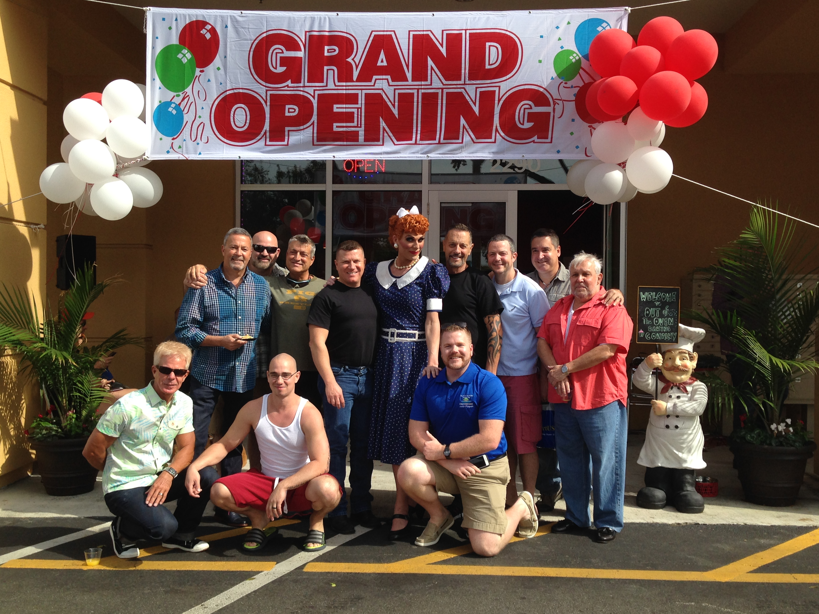 Commissioner Flippen Attends Grand Opening
