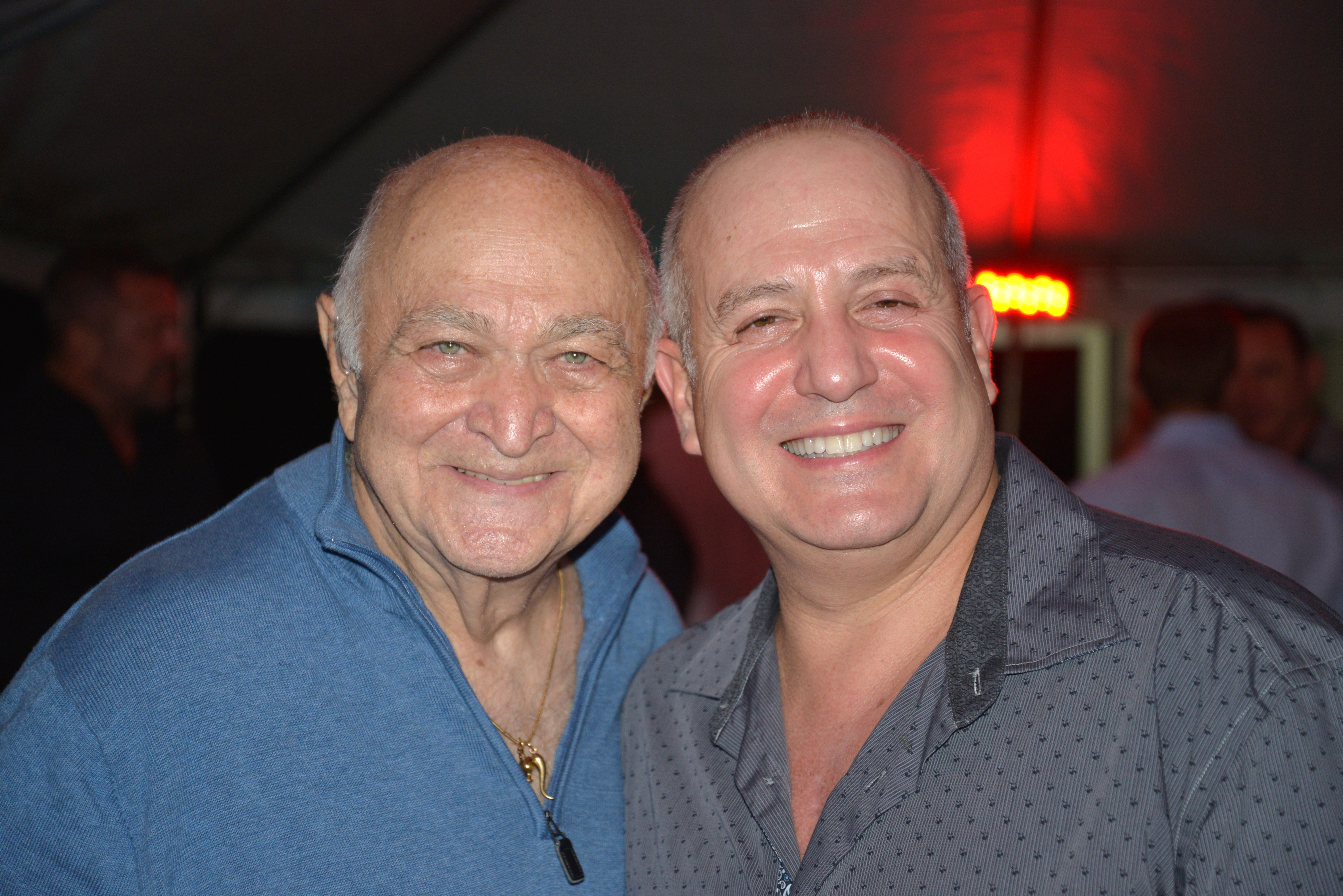 Pompano Bill and Mayor Resnick at the 2013 Evening in Paradise