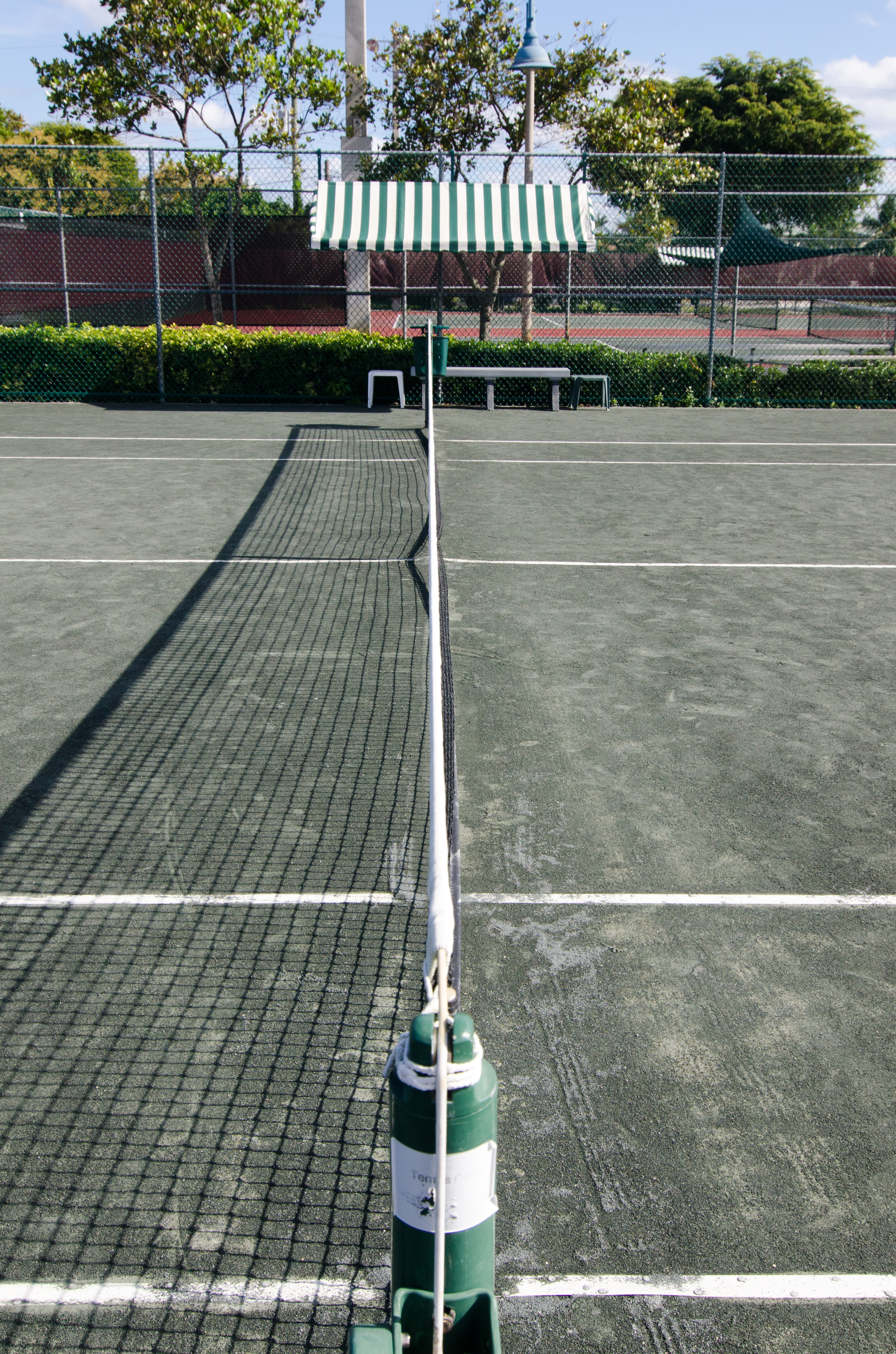 Clay Tennis Courts at the Hagen Park Tennis Center