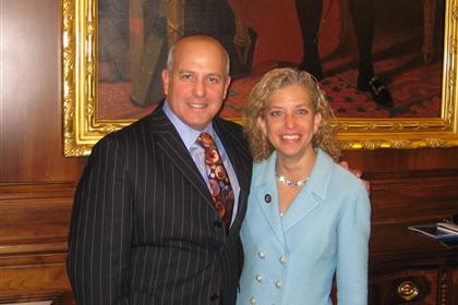 Mayor Resnick and Congresswoman Wasserman Schultz