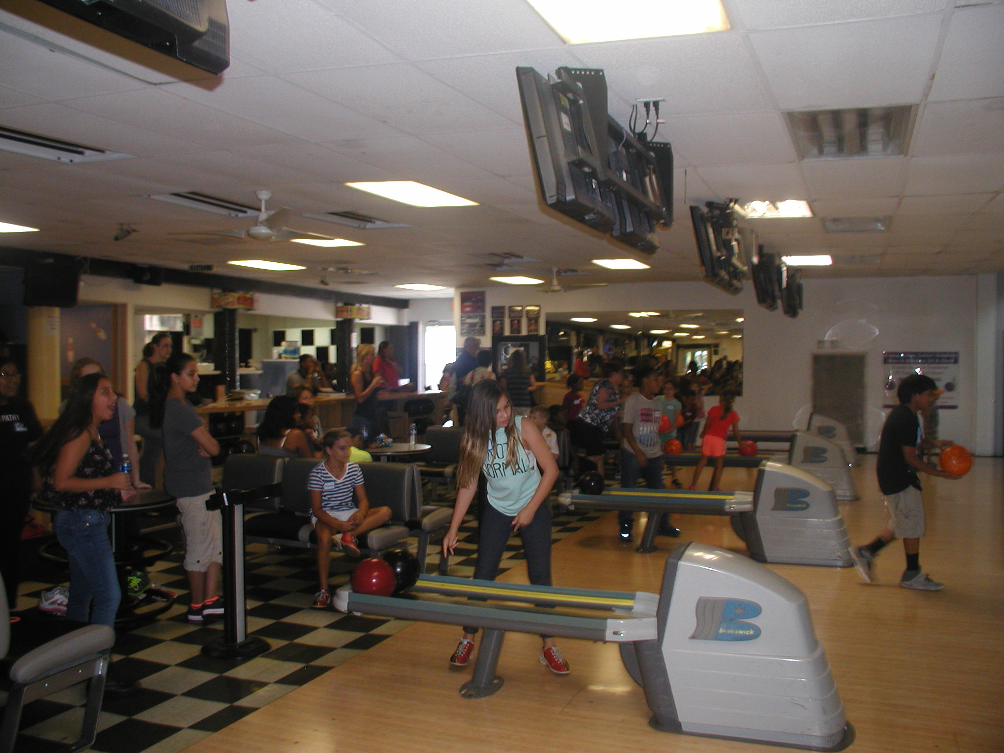 Bowling at Manor Lanes