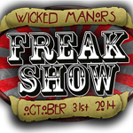 Wicked Manors Logo Freak Show