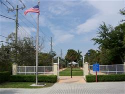 Photo of Donn Eisele Park entrance