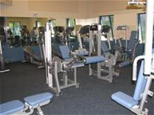 Photo of fitness center at Hagen Park