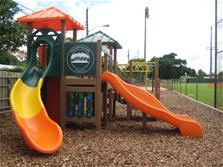Photo of playground at Mickel Field