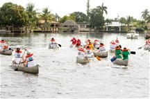 Picture of Canoe Race participants