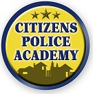 Citizens Police Academy logo button